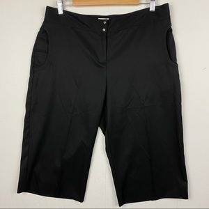 Izod XFG Black Bermuda Crop Pants